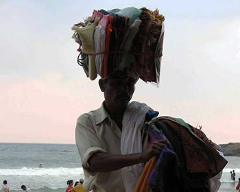 Kovalam Beach Vendor