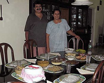 Jose & Daisy, Generous Hosts Of Mundackal Homestay