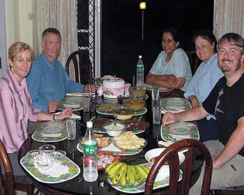 Kerala-Style Meal At Mundackal Homestay