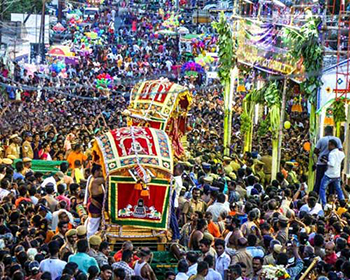 Procession of Goddess Meenakshi