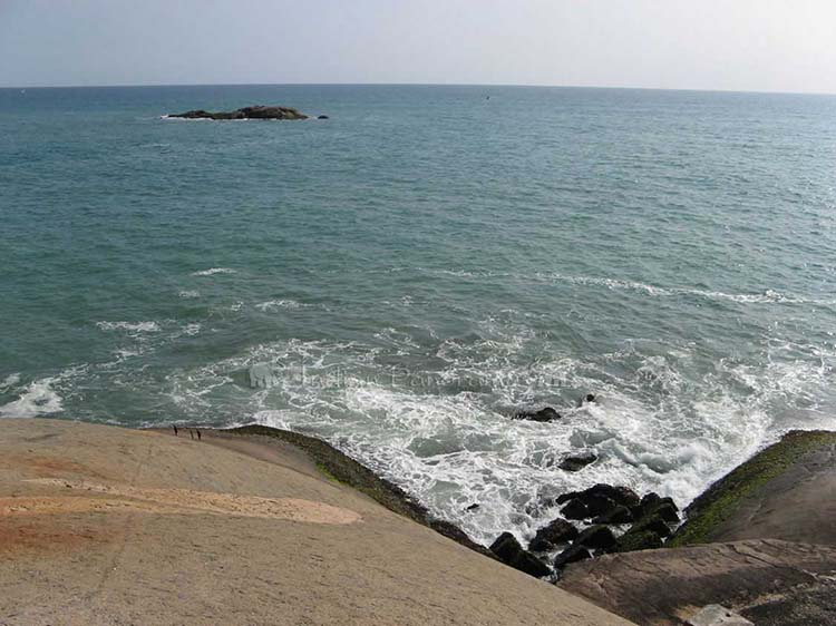 Land's End at Kanyakumari