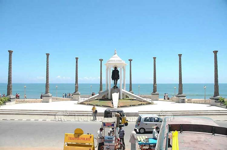 Pondicherry Gandhiji Statue