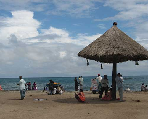Glimpse Of Pondicherry Beach