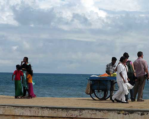 The Promenade in Pondicherry