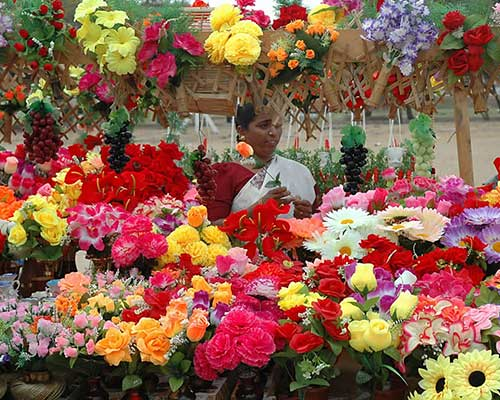Pondicherry Flower Stall