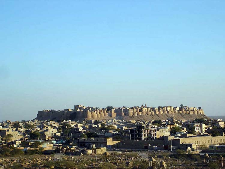 Views Of Jaisalmer Fort