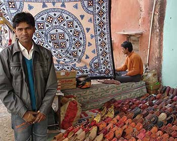 Street Vendor In Jaipur