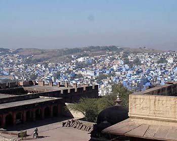 Views Over Jodhpur