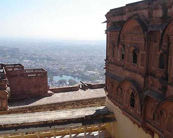 Views From Jodhpur Fort