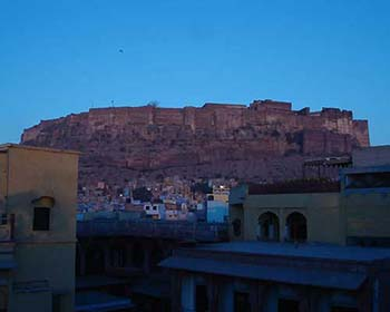 Views Towards Jodhpur Fort