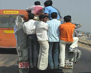 Typical Transport Mode In Rajasthan