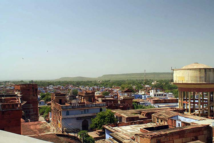 The Old Town Area Of Karauli