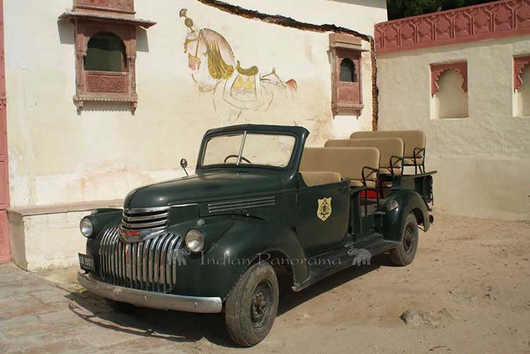 Vintage US Army Truck At Jojawar