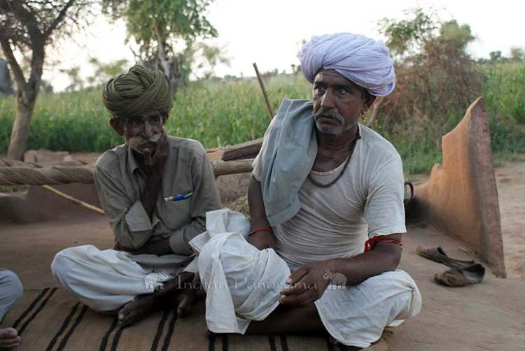 Rajput Villagers Near Osian