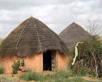 Huts At Hacra Dhani Near Osiyan