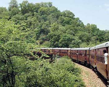 A Very Special Train Ride In The Hills Near Jojawar
