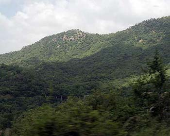 The Beautiful Hills Of The Aravali Range Near Jojawar