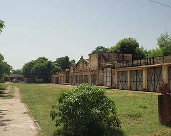 The Grounds Of Bhanwar Vilas Palace, Karauli