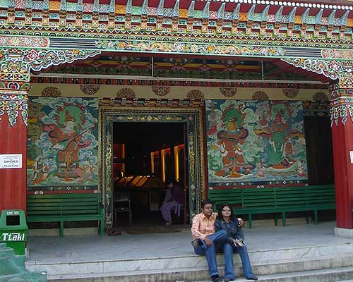 Sikkim - Institute Of Tibetology, Gangtok