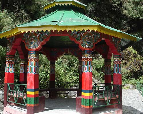 Pagoda Near Tsomgo Lake, Sikkim