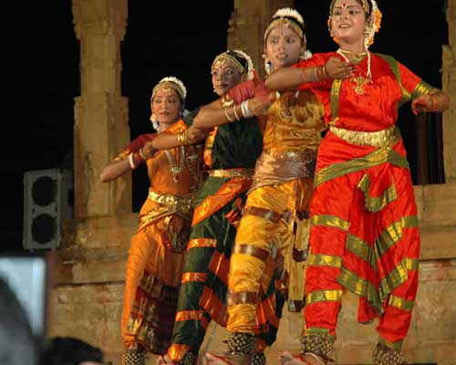 Temple Classical Dancers