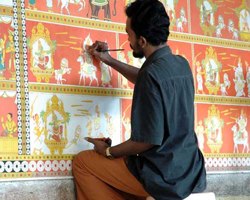 Painting Near Tanjore