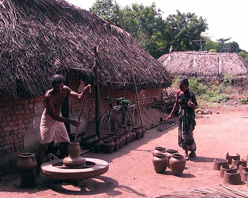 Traditional Pottery Making