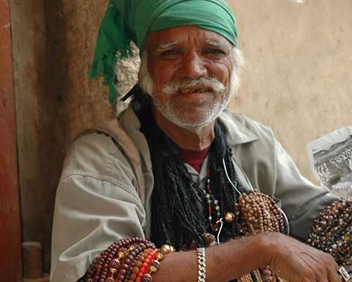 Gypsy Selling Jewellery