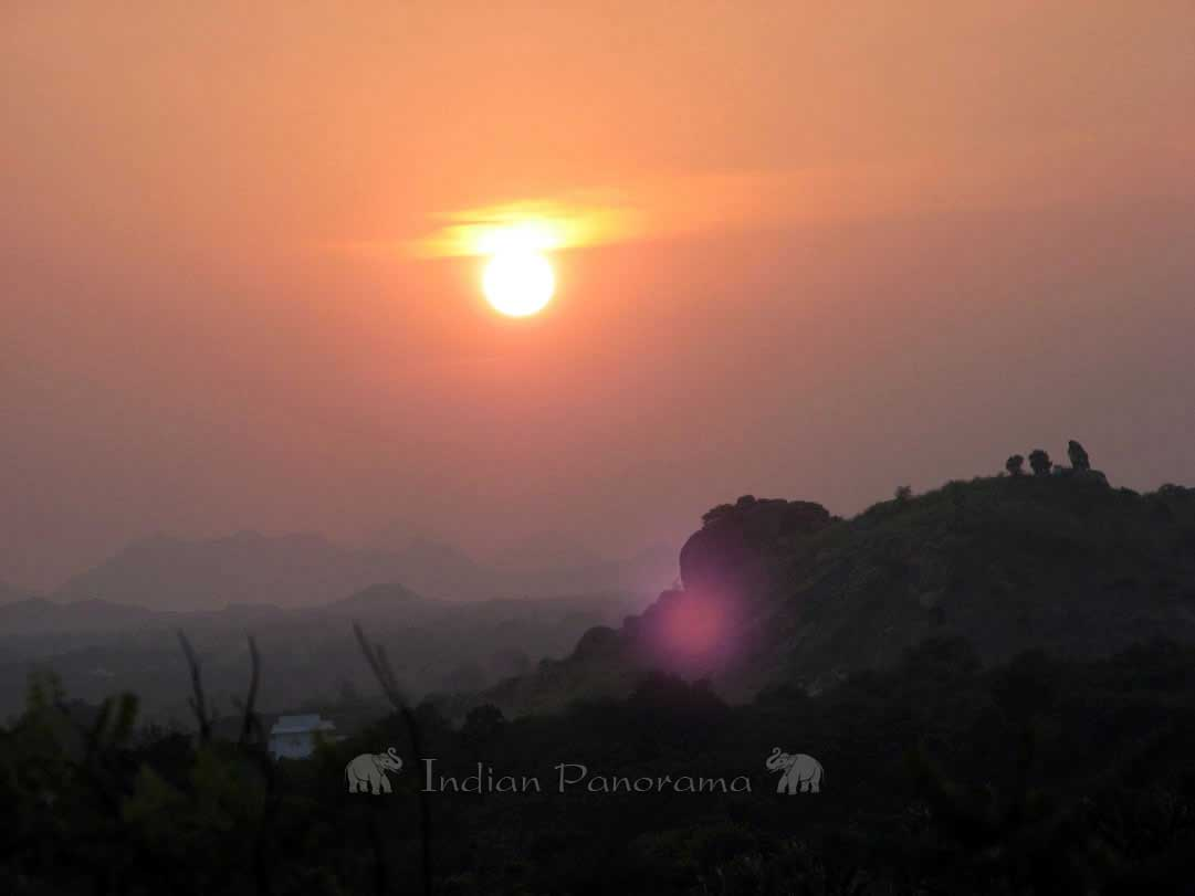 Sunset Views in Tiruvannamalai
