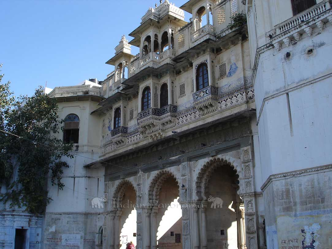 Gateway In Udaipur Old City