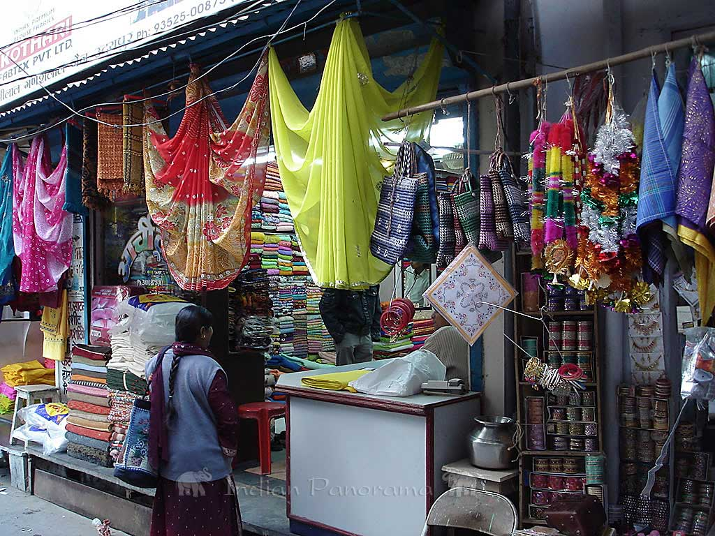 Colourful shop in Udaipur