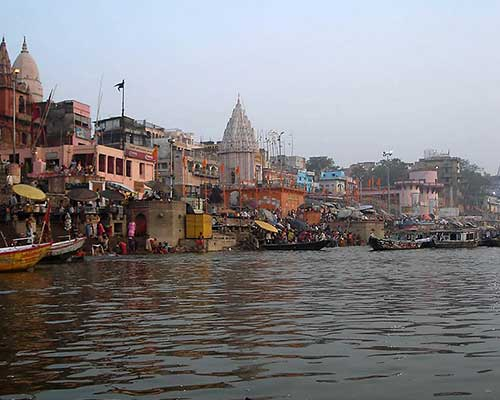 Dawn boat ride along the Ganges