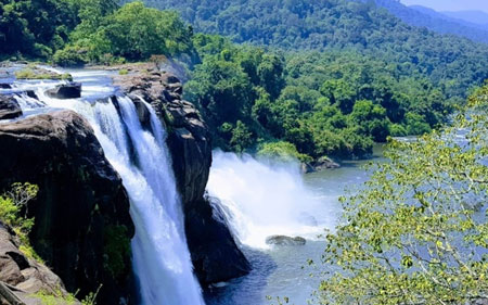 athirappalli-water-fall