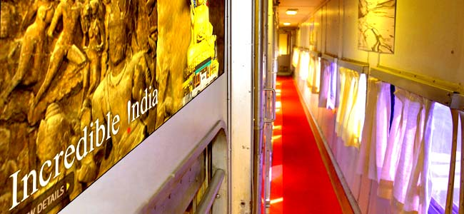 Buddhist Circuit Luxury Tourist Train - Inner View - Indian Panorama