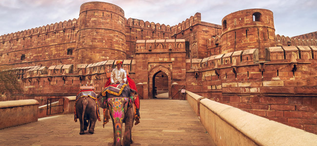 Agra Fort - Majestic Rajasthan - Indian Panorama