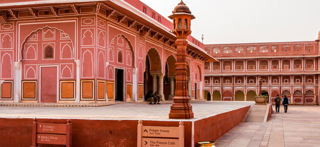 City Palace - Jaipur - Majestic Rajasthan with Taj Mahal - Indian Panorama