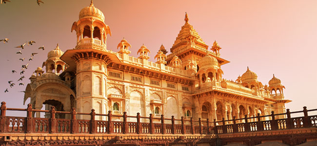 Jaswant Thada - Majestic Rajasthan with Taj Mahal - Indian Panorama